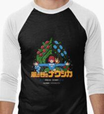 Valley of the Pixels Men's Baseball ¾ T-Shirt