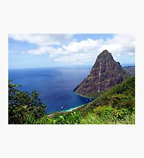 Stairway to Heaven view, Pitons, St. Lucia Photographic Print