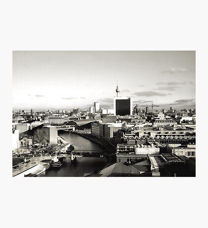Anatomy Of An Urbanscape Photographic Print