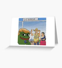 Border Wall Greeting Card