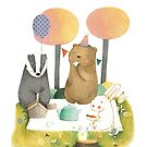 Picnic in the Forest by Judith Loske