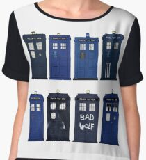 Doctor Who - The TARDIS Chiffon Top
