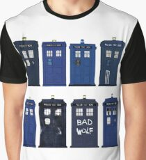Doctor Who - The TARDIS Graphic T-Shirt