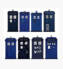 Doctor Who - The TARDIS Photographic Print