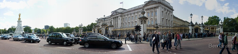 We've come to see the Queen by Ben Grant
