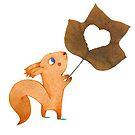 Squirrel Love by Judith Loske
