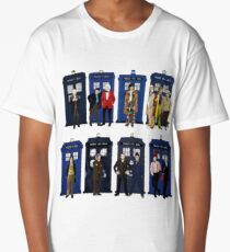 Doctor Who - Doctors & Tardises Long T-Shirt