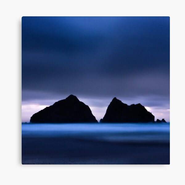 Holywell Bay III Canvas Print
