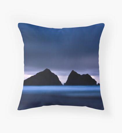 Holywell Bay III Throw Pillow