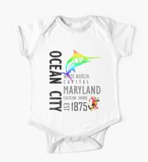 Ocean City Maryland White Marlin Capital Kids Clothes
