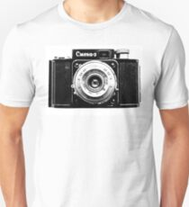 Old Photo Camera Unisex T-Shirt