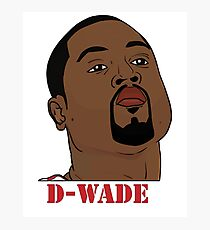 D-Wade Photographic Print
