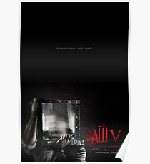 SAW V - Theatrical Poster Poster