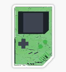 Green Game Boy Sticker