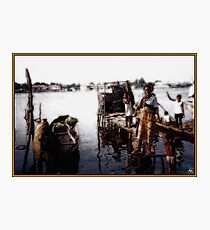 At the Waters Edge Photographic Print