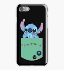 Stitch in the pocket iPhone Case/Skin