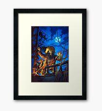 Monkey Island - LeChuck - Guybrush Threepwood - The Secret of Monkey Island - Le Chuck Framed Print