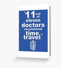 Doctor recomendation Greeting Card