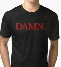 Kendrick Lamar DAMN Tri-blend T-Shirt