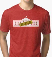 White House Under Construction Tri-blend T-Shirt