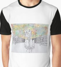 Melting man and sky Graphic T-Shirt