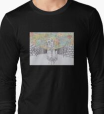 Melting man and sky Long Sleeve T-Shirt