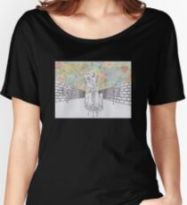 Melting man and sky Women's Relaxed Fit T-Shirt