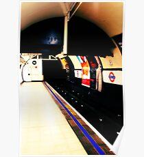 Metro mood in London # 03 Poster