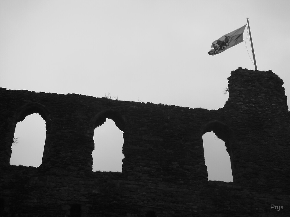 Haverfordwest castle by Prys