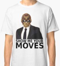 Captain Falcon in Formal Attire 2 Classic T-Shirt