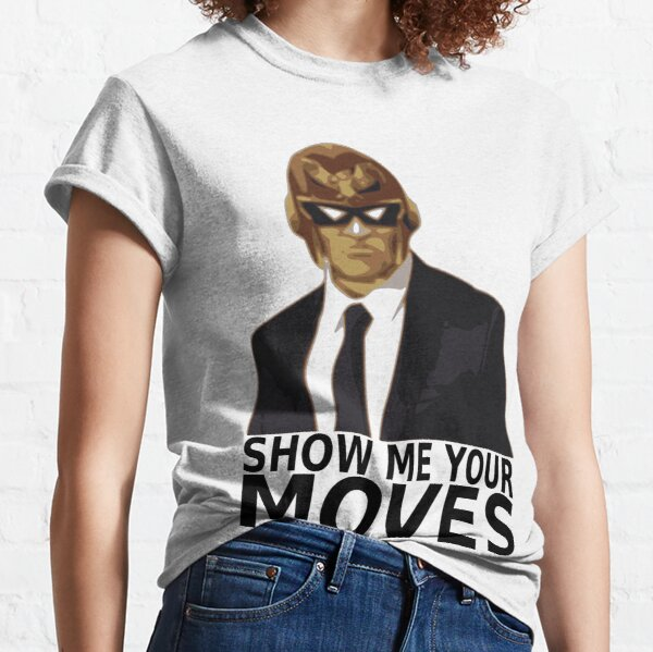 Captain Falcon in Formal Attire 2 Classic T-Shirt
