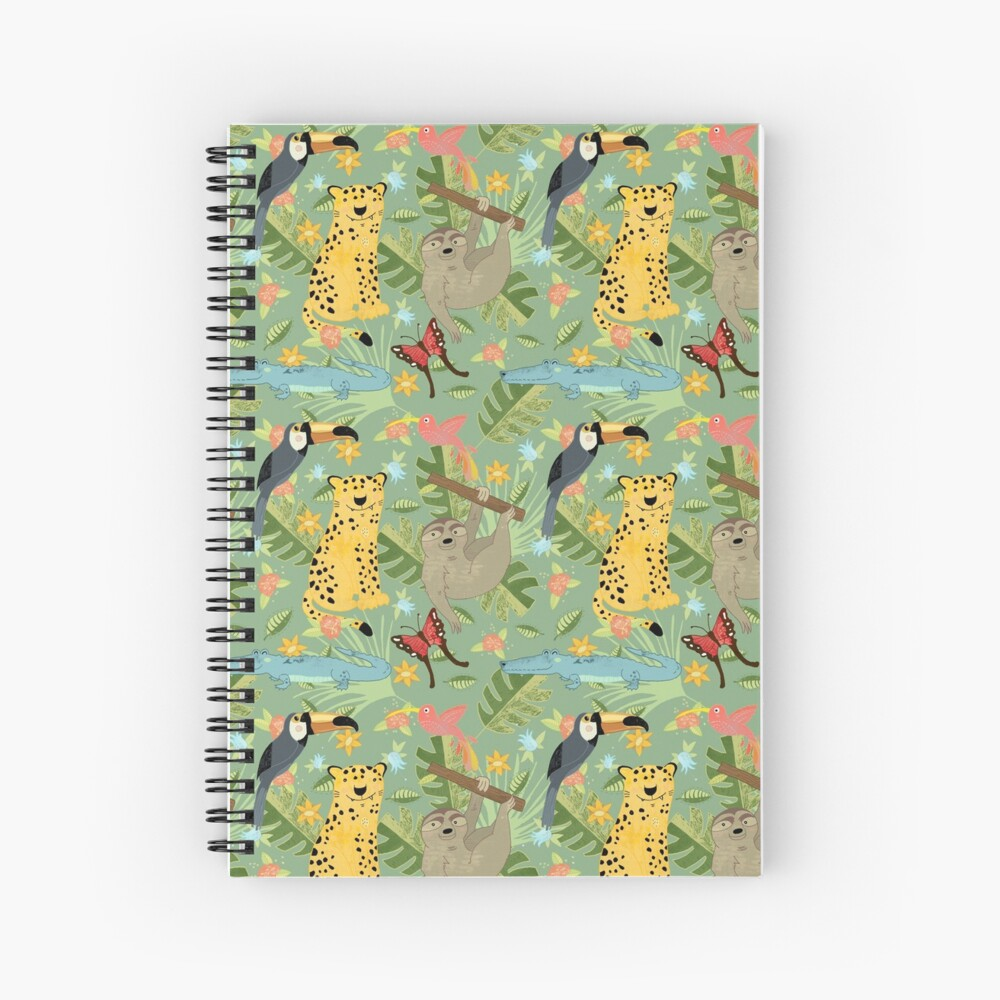 Jungle Adventure Spiral Notebook