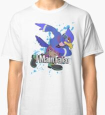 I Main Falco (Purple Alt.) - Super Smash Bros. Classic T-Shirt