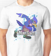 I Main Falco (Purple Alt.) - Super Smash Bros. Unisex T-Shirt