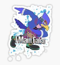 I Main Falco (Purple Alt.) - Super Smash Bros. Sticker