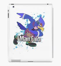 I Main Falco (Purple Alt.) - Super Smash Bros. iPad Case/Skin