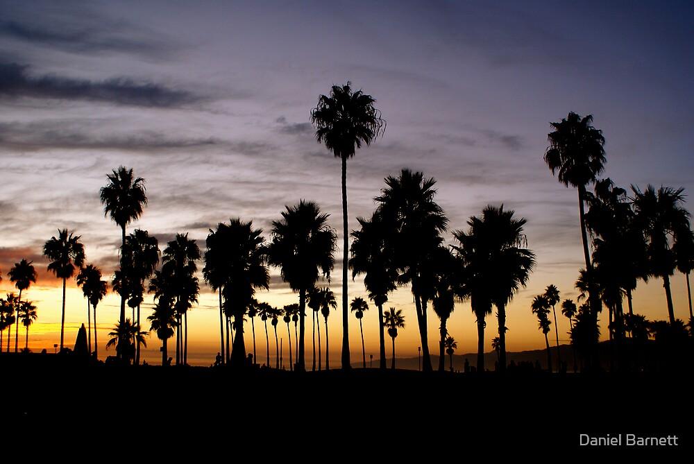 Sunset- Malibu, California by Daniel Barnett
