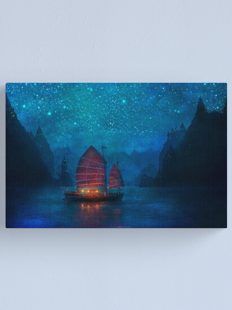 Alternate view of Our Secret Harbor Canvas Print