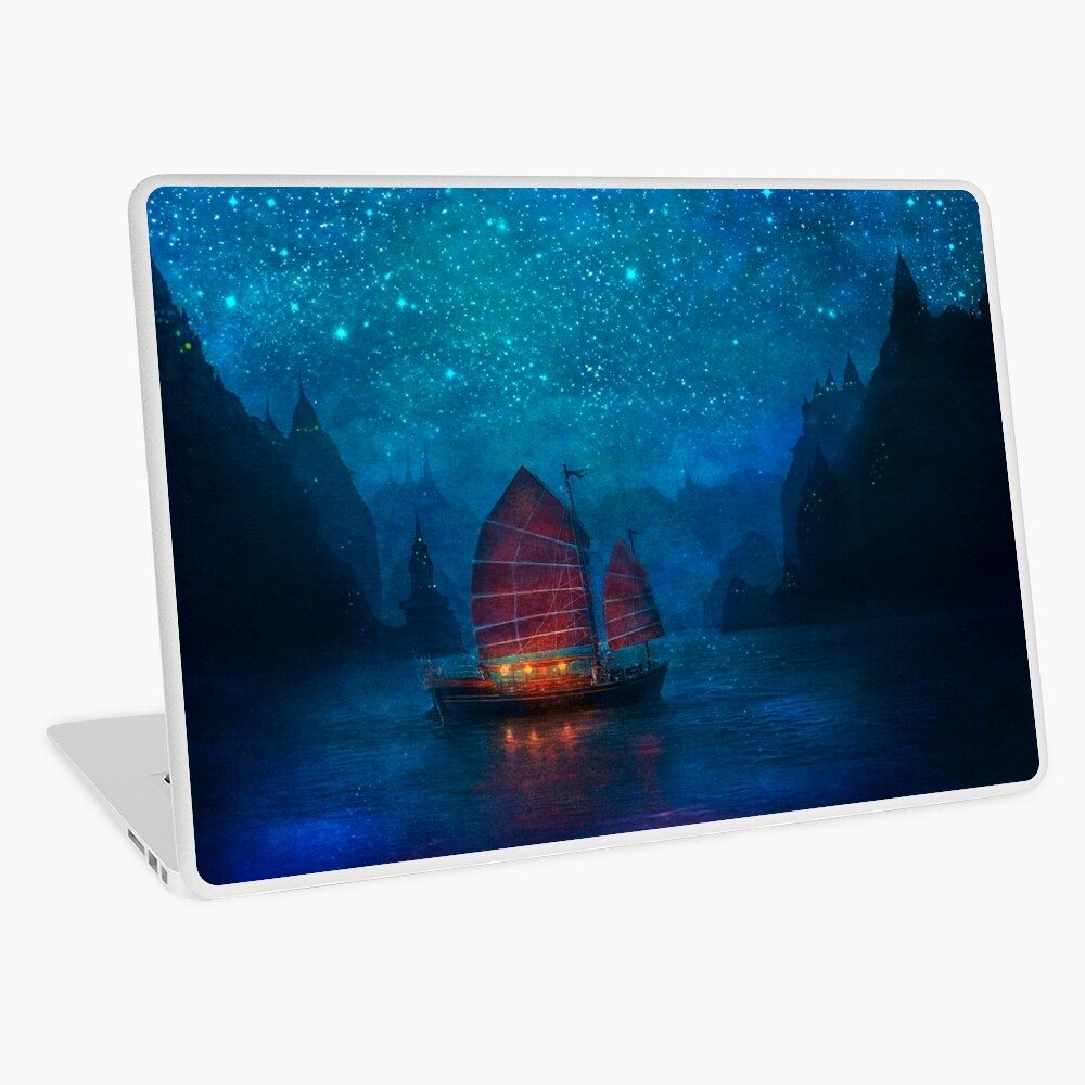Our Secret Harbor Laptop Skin