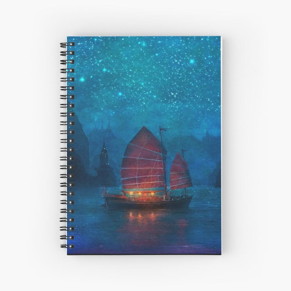 Our Secret Harbor Spiral Notebook