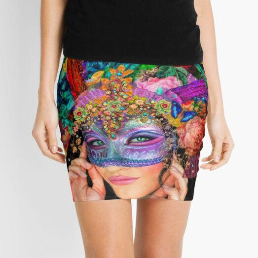The Mascherari's Muse Mini Skirt