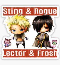 FairyTail Sting & Rogue  Sticker