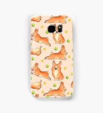 Blissful the corgi Samsung Galaxy Case/Skin