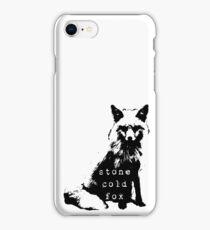 Stone Cold Fox II iPhone Case/Skin