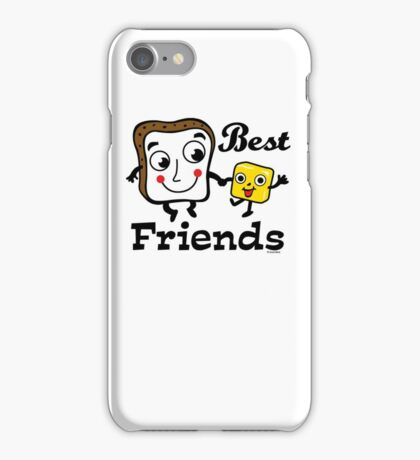 "Bread and Butter ""Best Friends""  iPhone Case/Skin"