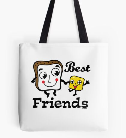 "Bread and Butter ""Best Friends""  Tote Bag"