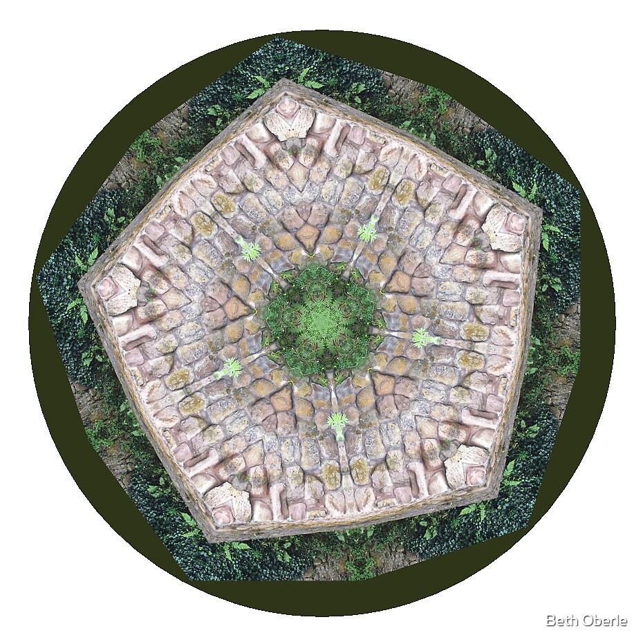 Rosslyn Glen Mandala #5 by Beth Oberle