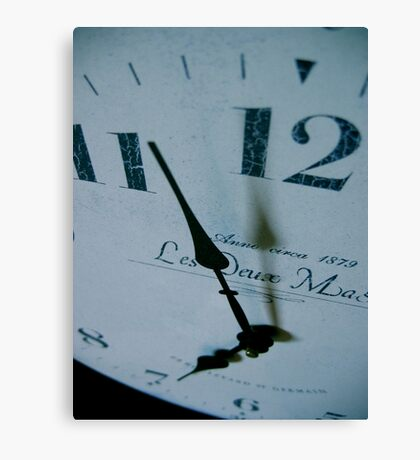 As if time stood still... Canvas Print