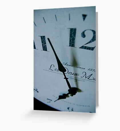 As if time stood still... Greeting Card