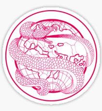 Ouroboros - Magenta Sticker